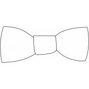 Bow Tie Stamp 01