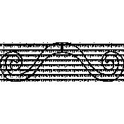 Mustache Stamp 04