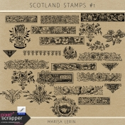 Scotland Stamps Kit #1