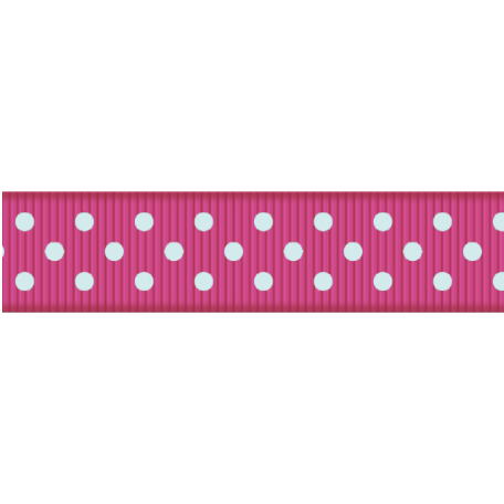 Paris Ribbon 02 - Pink & Blue