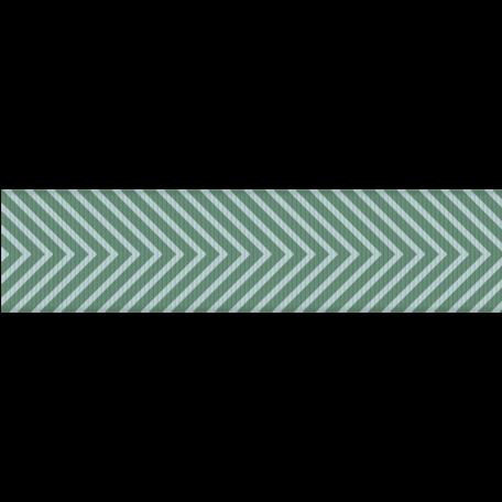 Paris Ribbon 05 - Teal & Blue