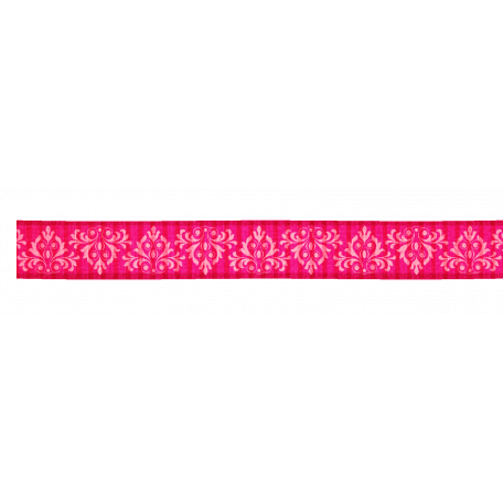 Pink Pattern Ribbon
