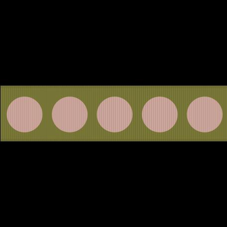 Family Game Night Ribbon - Large Polka Dots