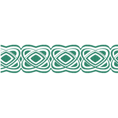 The Lucky One - Teal Celtic Border