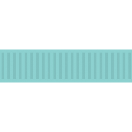 Color Basics Ribbon Aqua