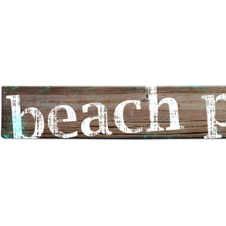 Tropics Word Art Board Beach Party