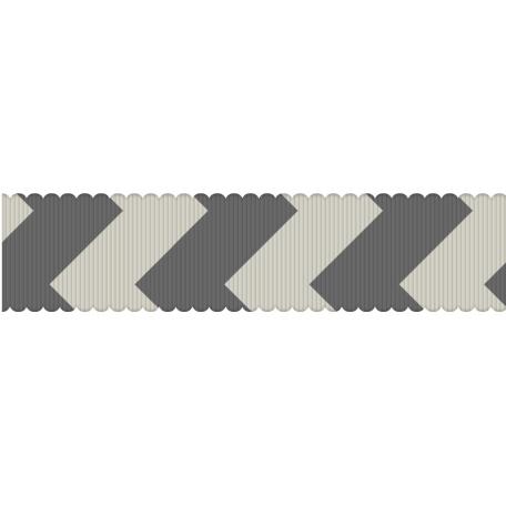 Fat Ribbon Template 04 - Chevron 01