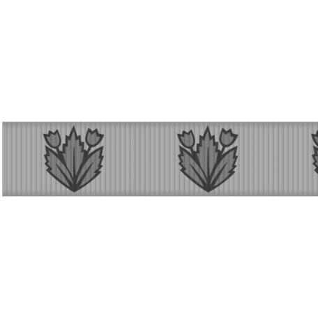 Medium Ribbon - Floral 01