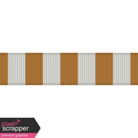 USA Striped Ribbon
