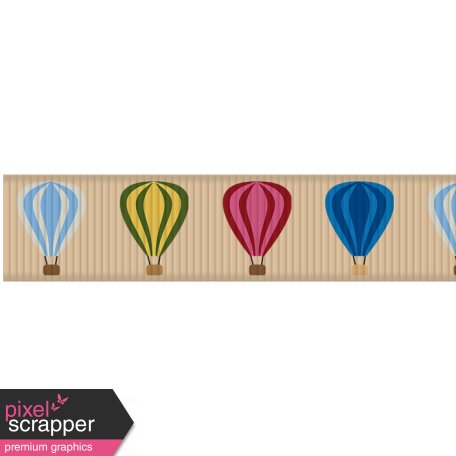 Hot Air Balloon - Balloon Ribbon