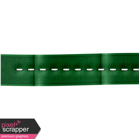 Color Basics Ribbon Stitch Dark Green