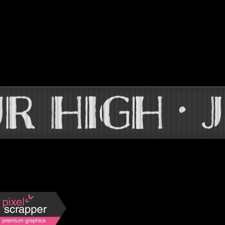 School Ribbon Jr High
