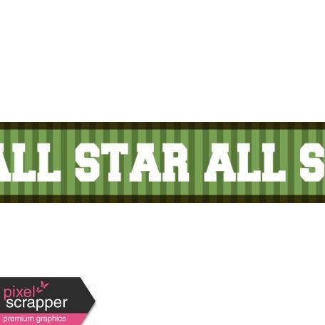 Football Ribbon All Star