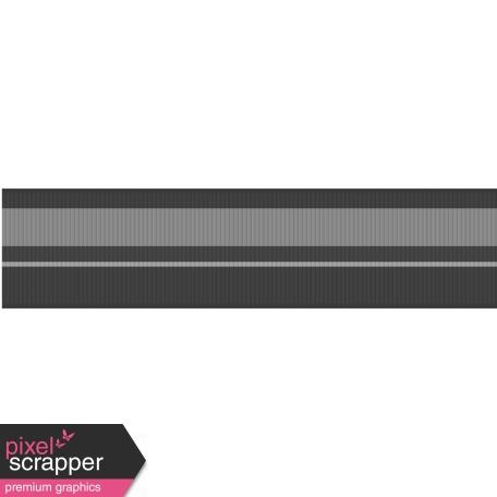 Fat Ribbon Template - Stripes 02