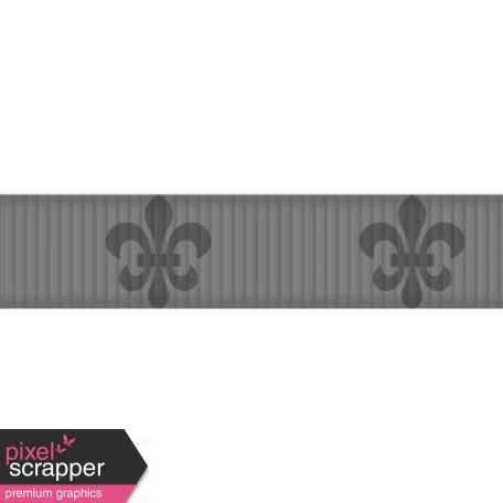 Thin Ribbon Template - Ornamental 02