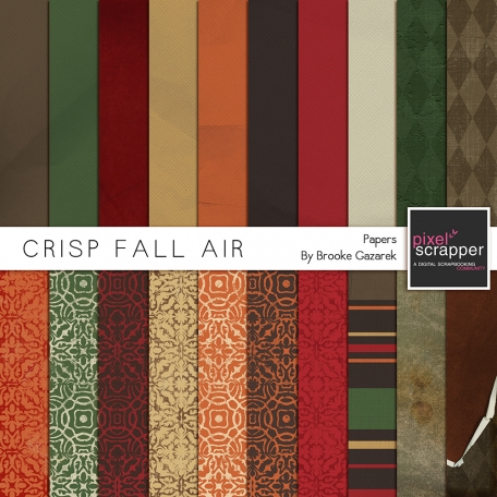 Crisp Fall Air Papers Kit