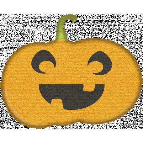 No Tricks, Just Treats-Pumpkin Sticker