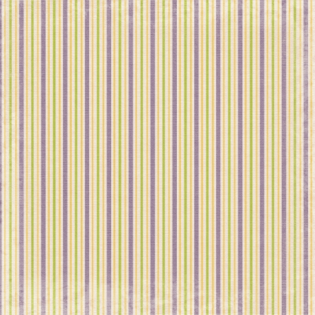 No Tricks, Just Treats-Purple,Green, And Orange Striped Paper