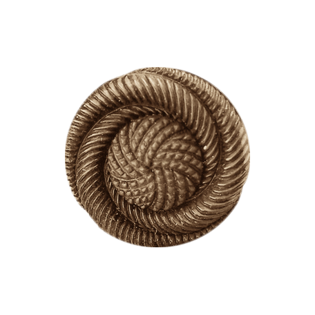 My Baptism - Brown Twirl Button