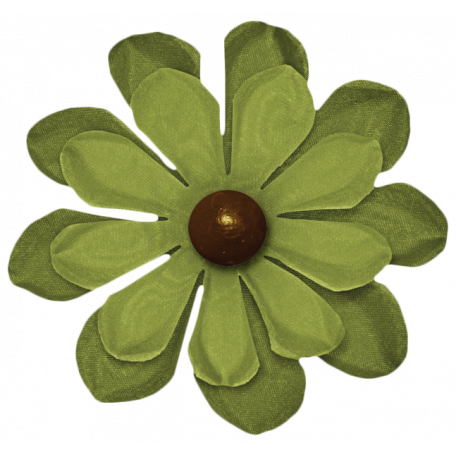 Turkey Time - Green Flower
