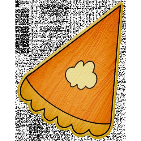 Turkey Time - Pumpkin Pie Slice