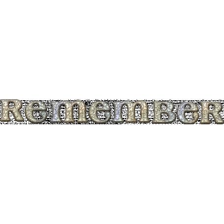 """Vintage - November Blogtrain """"Remember"""" Charm"""