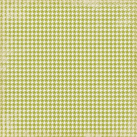 Thankful - Green Houndstooth Paper