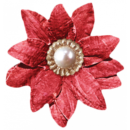 It's Christmas - Red Flower