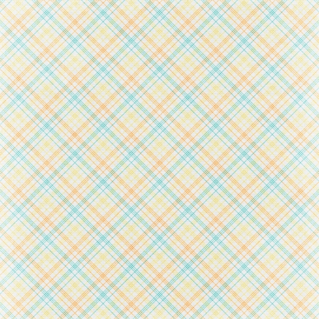 Simple Pleasures - Colorful Plaid Paper