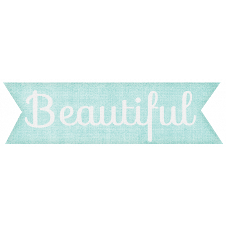 Simple Pleasures - Beautiful Tag