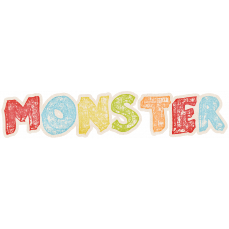Lil Monster - Monster Wordart