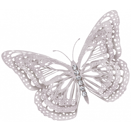 Country Wedding - Fabric Butterfly