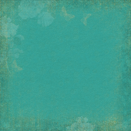Enchanted - Teal Paper