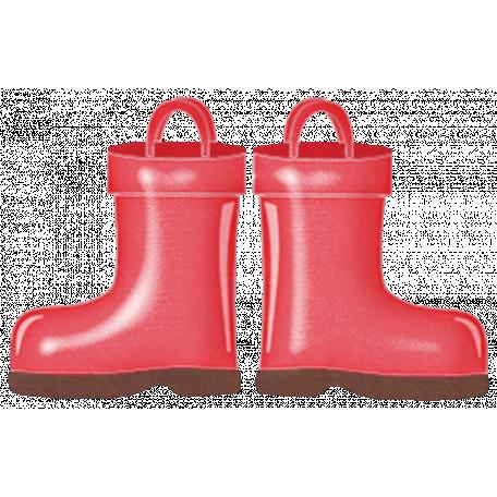 Rain, Rain - Red Rain Boots