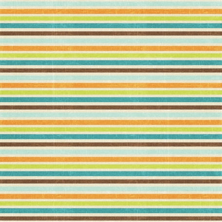 At The Beach - Stripes Paper