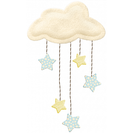 Oh Baby, Baby - Cloud & Stars Mobile