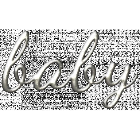 Oh Baby, Baby - Wordart Charm - Baby
