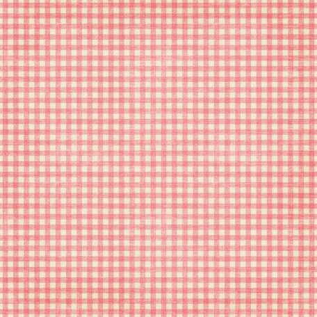 Christmas In July - Gingham Paper - Pink