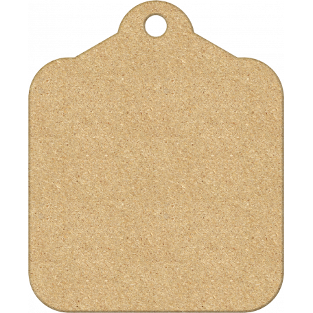 Dad - Chipboard Tag