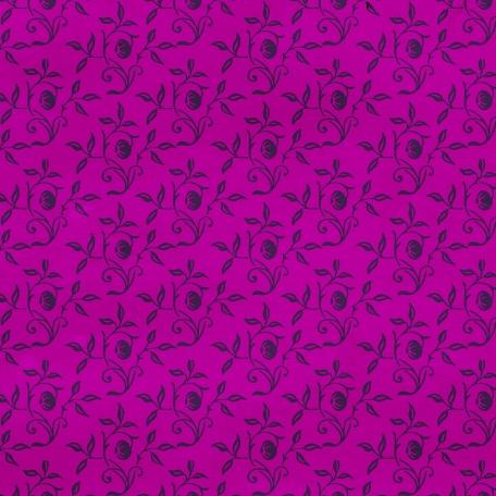 Floral 30 Paper - Purple