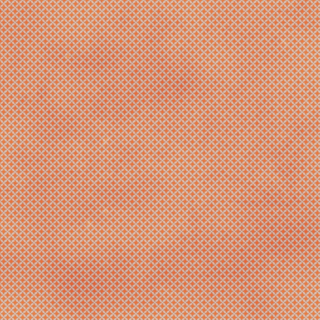 Houndstooth 02 Paper - Orange & Blue
