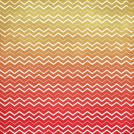 Chevron 18 Paper - Yellow & Red
