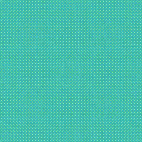 Polka Dots 19 Paper - Teal & Green
