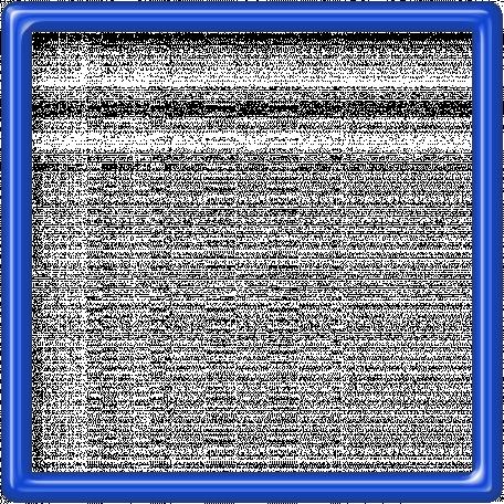 Blue Plastic Frame - 5x5