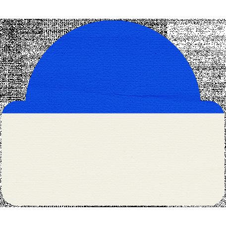 Tab 20 - Blue & White