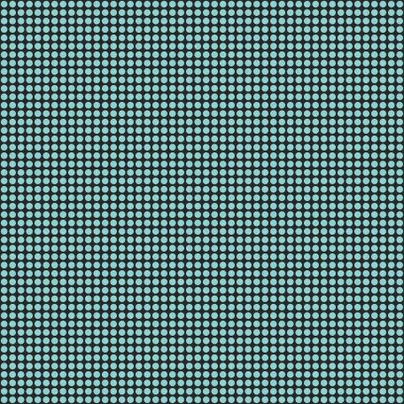 Polka Dots 41 Paper - Aqua & Black
