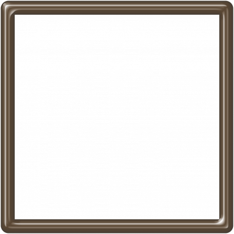 Brown Plastic Frame - 5x5
