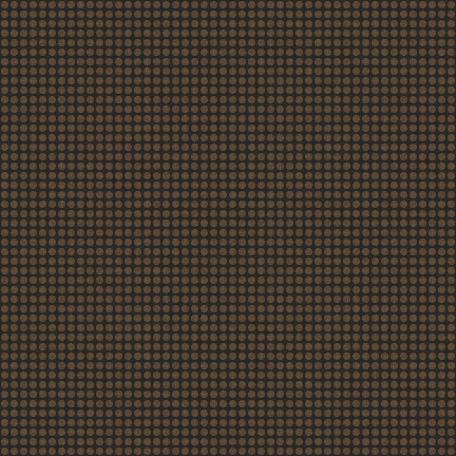 Polka Dots 41 Paper - Brown & Black