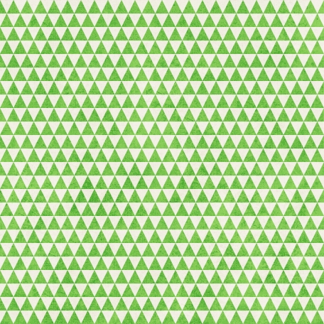 Geometric 23 Paper - Light Green & White