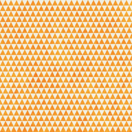 Geometric 23 Paper - Orange & White
